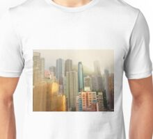 a soft touch to a concrete world  Unisex T-Shirt