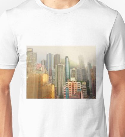 a soft touch to a concrete world  Unisex T-Shirt
