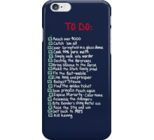 To-Do iPhone Case/Skin