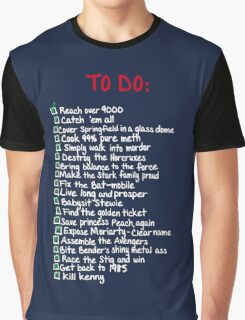 To-Do Graphic T-Shirt