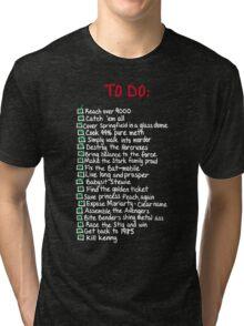 To-Do Tri-blend T-Shirt