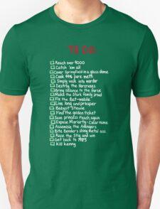 To-Do Unisex T-Shirt