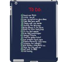 To-Do iPad Case/Skin