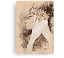 Stag crown Canvas Print