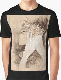 Stag crown Graphic T-Shirt