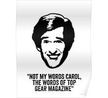 """Alan Partridge """"Top Gear Magazine"""" Quote Poster"""