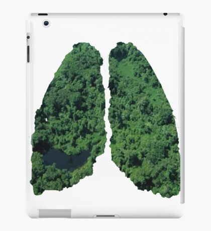 Natural lungs iPad Case/Skin