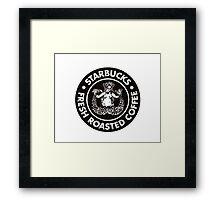 Vintage Starbucks Logo Framed Print