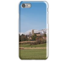 Clackmannan Town and The Ochil Hills iPhone Case/Skin