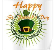 Happy St. Patrisk's Day Poster