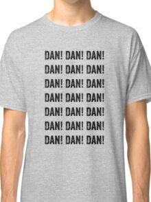 """Alan Partridge """"DAN! DAN! DAN! DAN!"""" Quote Classic T-Shirt"""