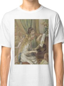 Auguste Renoir - Young Girls at the Piano 1892 Classic T-Shirt