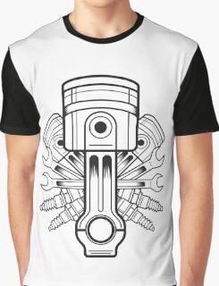 Piston lable Graphic T-Shirt