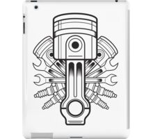 Piston lable iPad Case/Skin