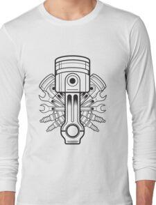 Piston lable Long Sleeve T-Shirt