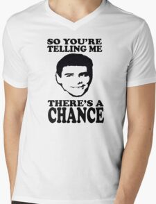 Dumb And Dumber So You're Telling Me There's A Chance Mens V-Neck T-Shirt