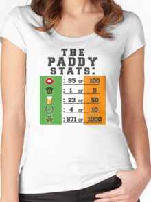 Paddy stats Women's Fitted Scoop T-Shirt
