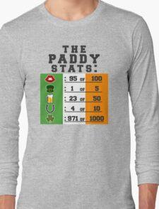 Paddy stats Long Sleeve T-Shirt