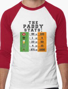 Paddy stats Men's Baseball ¾ T-Shirt