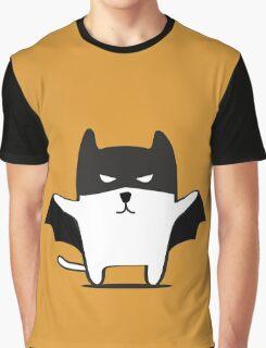 Batman Cat Graphic T-Shirt
