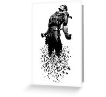 MGS Snake Greeting Card