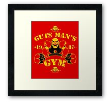 Guts Man's Gym Framed Print