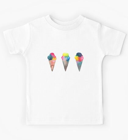 ice cream cones  Kids Tee