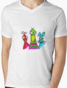 Easter Bunnies Mens V-Neck T-Shirt