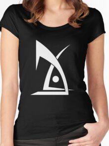 Deus Ex Machina White Women's Fitted Scoop T-Shirt