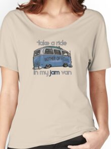 RIDE IN MY JAM VAN 2.0 Women's Relaxed Fit T-Shirt