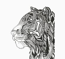 BlackWhite Zen Tiger Unisex T-Shirt