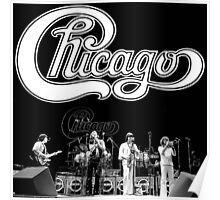 Chicago band live In Concert Poster