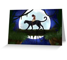 The Jungle Book Greeting Card