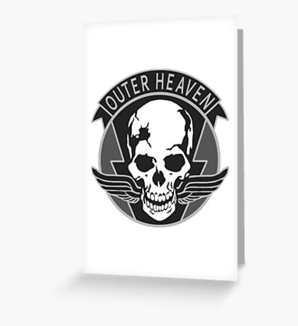 Outer Heaven Greeting Card