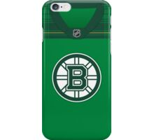 Boston Bruins St. Patrick's Day Jersey iPhone Case/Skin