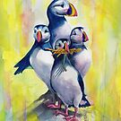 Puffin Play Time by Sherry Cummings