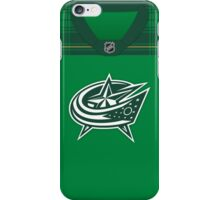 Columbus Blue Jackets St. Patrick's Day Jersey iPhone Case/Skin