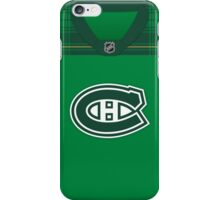 Montreal Canadiens St. Patrick's Day Jersey iPhone Case/Skin