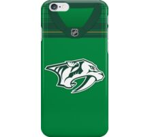 Nashville Predators St. Patrick's Day Jersey iPhone Case/Skin