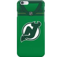 New Jersey Devils St. Patrick's Day Jersey iPhone Case/Skin