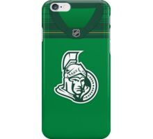 Ottawa Senators St. Patrick's Day Jersey iPhone Case/Skin