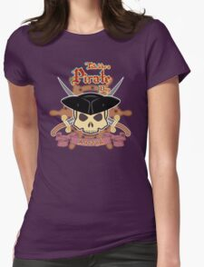 Talk like a Pirate Day Womens Fitted T-Shirt