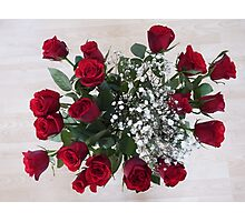 Red Roses Photographic Print