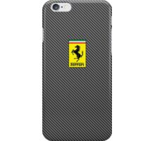 Ferrari Carbon Fiber Logo  iPhone Case/Skin