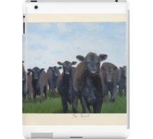 9 black cows: the Court iPad Case/Skin