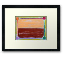 ABSTRACT 406 Framed Print