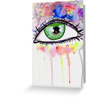 Eye Colors Greeting Card
