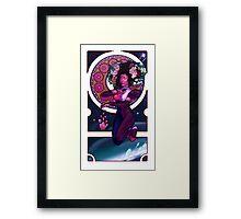 Garnet - Art Nouveau Framed Print