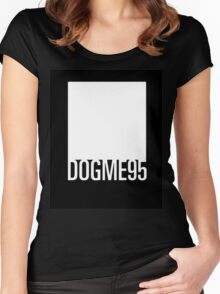 Dogme 95 minimal Women's Fitted Scoop T-Shirt
