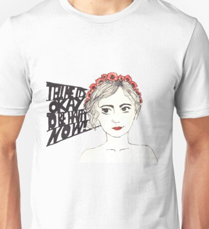 Paramore Tell Me It's Okay Unisex T-Shirt